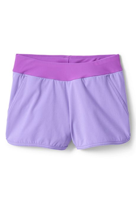 Girls Comfort Waist Stretch Swim Shorts