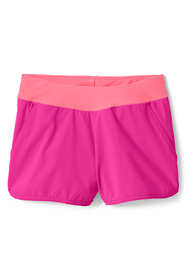 Little Girls Comfort Waist Stretch Swim Shorts