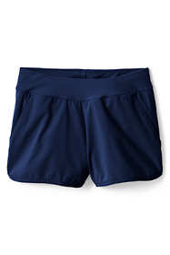 Girls Slim Comfort Waist Stretch Swim Shorts
