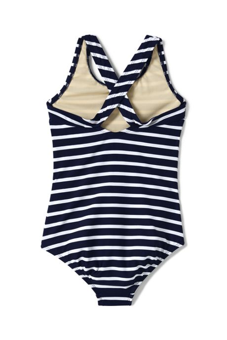 Girls Plus Racerback One Piece Swimsuit