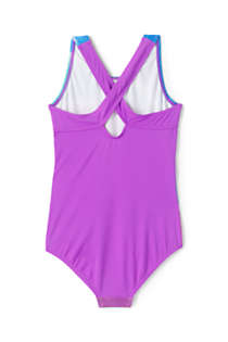 Girls Racerback One Piece Swimsuit, Back