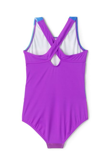 Little Girls Racerback One Piece Swimsuit