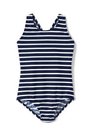 Toddler Girls Racerback One Piece Swimsuit