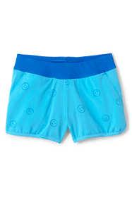 Girls Comfort Waist Magic Print Swim Shorts