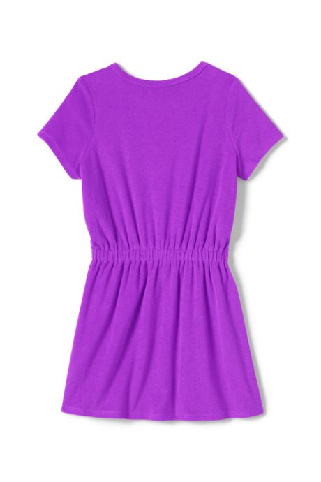 Little Girls Terry Dress Swim Cover-Up