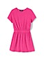 Little Girls' Towelling T-shirt Dress Cover-up