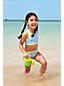 Badeshirt und Bikiniset 3-teilig Gemustert für große Mädchen