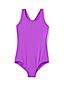 Badeanzug mit gekreuzten Trägern für große Mädchen