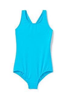 Girls' Essential Cross-back Swimsuit