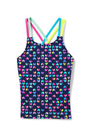 Girls Plus Mix and Match Print Tankini Top