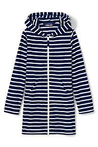 7fafcb1eac7a9 Girls Stripe Kangaroo Pocket Swim Cover-Up