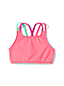 Girls' Mix & Match Cross-back Bikini Top