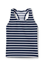 Little Girls Essential Print Tankini Top