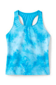 Girls Slim Racerback Tankini Top