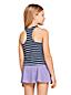 Little Girls' Stripe Racer-back Tankini Top