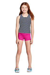 Little Girls Racerback Tankini Top, alternative image