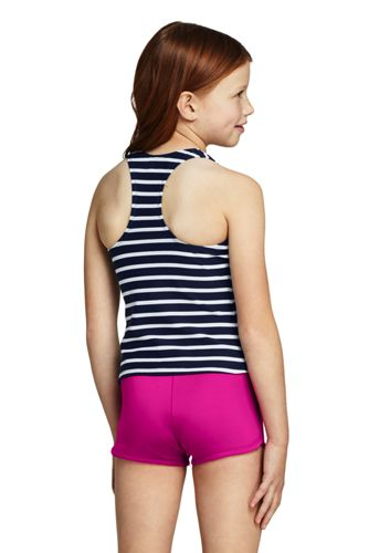 Girls Racerback Tankini Top