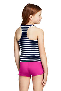Little Girls Racerback Tankini Top, Back