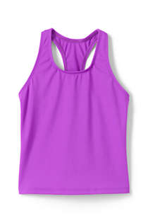Toddler Girls Racerback Tankini Top, Front