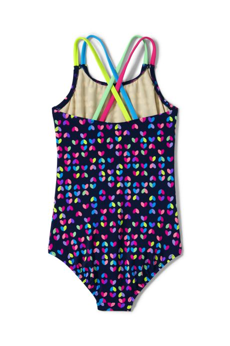 Girls Plus Mix and Match One Piece Swimsuit