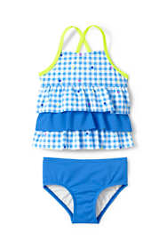 Toddler Girls Ruffle Tankini Set