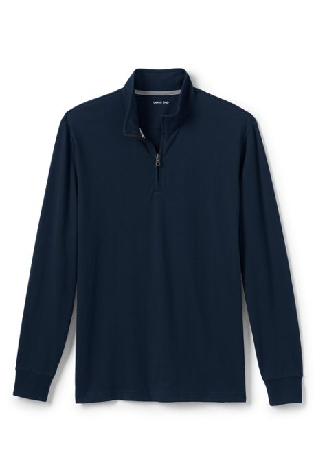 Men's Tall Long Sleeve Super-T Quarter Zip Pullover