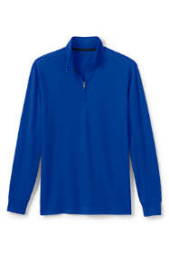 Men's Long Sleeve Super-T Quarter Zip Pullover