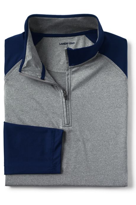 Men's Performance Golf Polo Quarter Zip