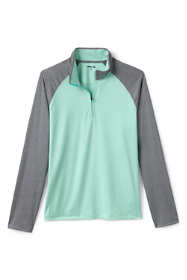 Men's Tall Performance Golf Polo Quarter Zip