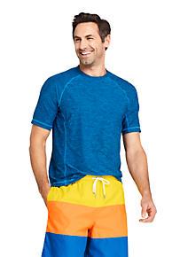 c9cc85ba5ffe1 Men s Spacedye Short Sleeve Swim Tee Rash Guard