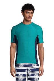 Men's Tall Spacedye Short Sleeve Swim Tee Rash Guard
