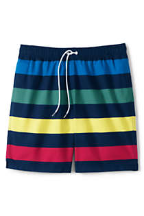 "Men's 8"" Print Volley Swim Trunks, Front"
