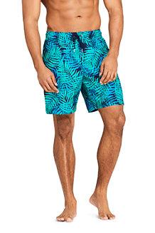 a179176038 Men's 8-inch Patterned Swim Shorts