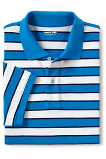 Men's Big and Tall Short Sleeve Stripe Comfort-First Mesh Polo Shirt, alternative image