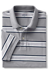 Men's Short Sleeve Stripe Comfort-First Mesh Polo Shirt, alternative image