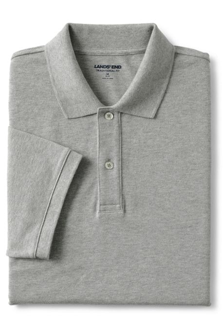 Men's Big and Tall Short Sleeve Comfort-First Mesh Polo Shirt