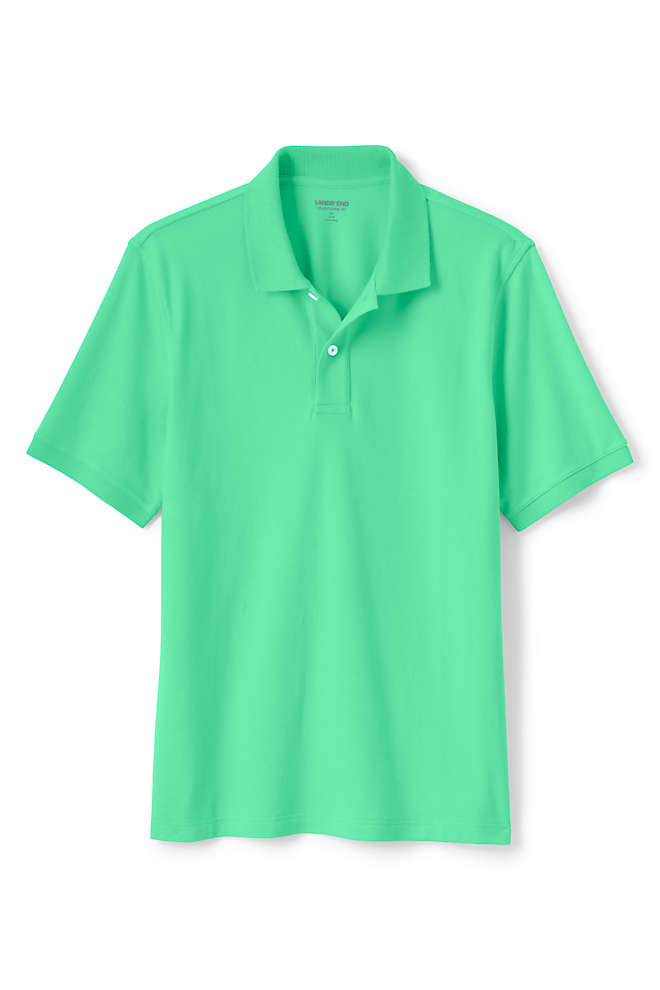 Men's Big and Tall Short Sleeve Comfort-First Mesh Polo Shirt, Front