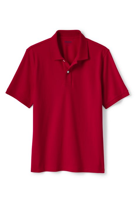 Men's Big and Tall Short Sleeve Comfort First Solid Mesh Polo