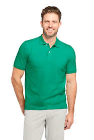 Men's Tall Short Sleeve Comfort First Solid Mesh Polo