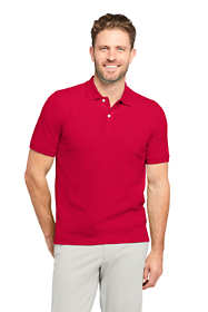 Men's Short Sleeve Comfort First Solid Mesh Polo