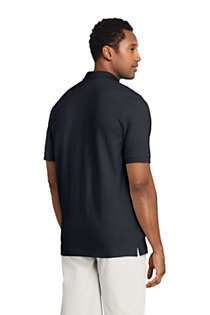 Men's Tall Short Sleeve Comfort-First Mesh Polo Shirt, Back