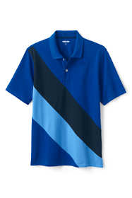 Men's Short Sleeve Comfort First Mesh Pieced Polo