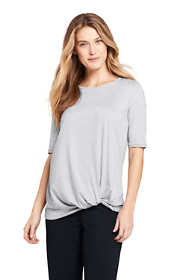 Women's Active Knot Front Tunic
