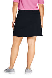 Women's Plus Size Active Knit Skort, Back
