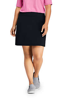 Women's Plus Size Active Knit Skort, Front