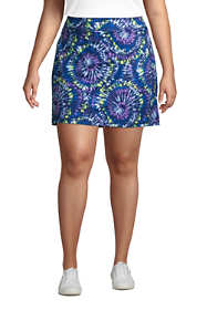 Women's Plus Size Active Knit Skort