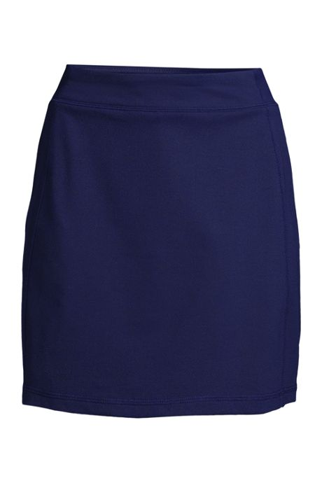 Women's Plus Size Active Knit Skort