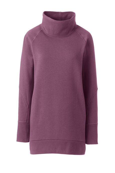 Women's Active Funnel Neck Tunic
