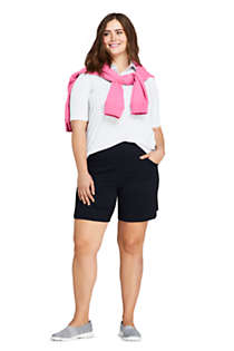 Women's Plus Size Active Pocket Shorts, Unknown