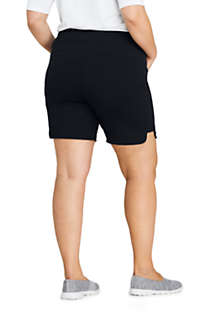Women's Plus Size Active Pocket Shorts, Back